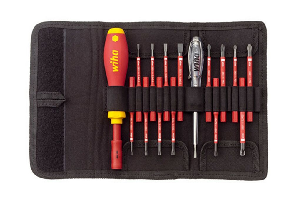 wiha 2831t16 screwdriver set slotted phillips pozidriv torx slimvario vde 1000v ebay. Black Bedroom Furniture Sets. Home Design Ideas