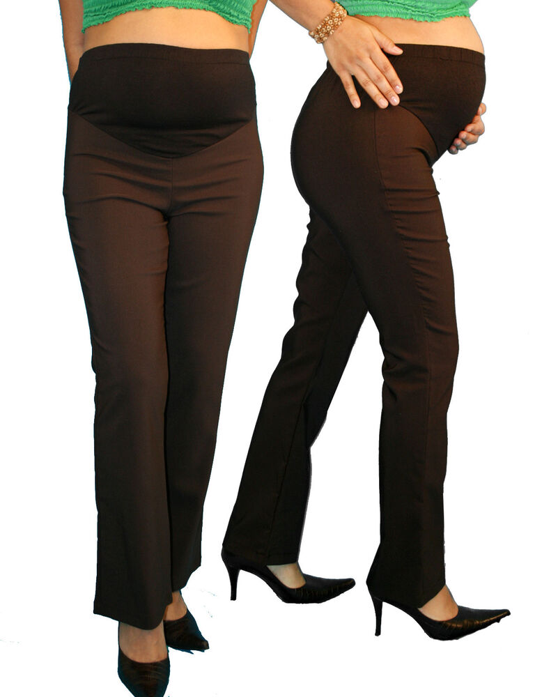 Maternity dress work pants black soft cotton panel, gently used by me, no holes or rips, in excellent condition. From smoke and pet free home Motherhood Maternity Work Office Dress Pants Slacks Womens Size Small.