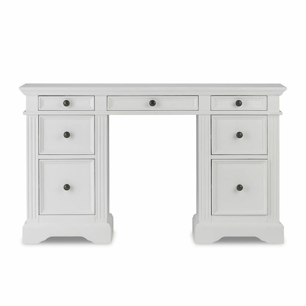 Gainsborough dressing table solid white