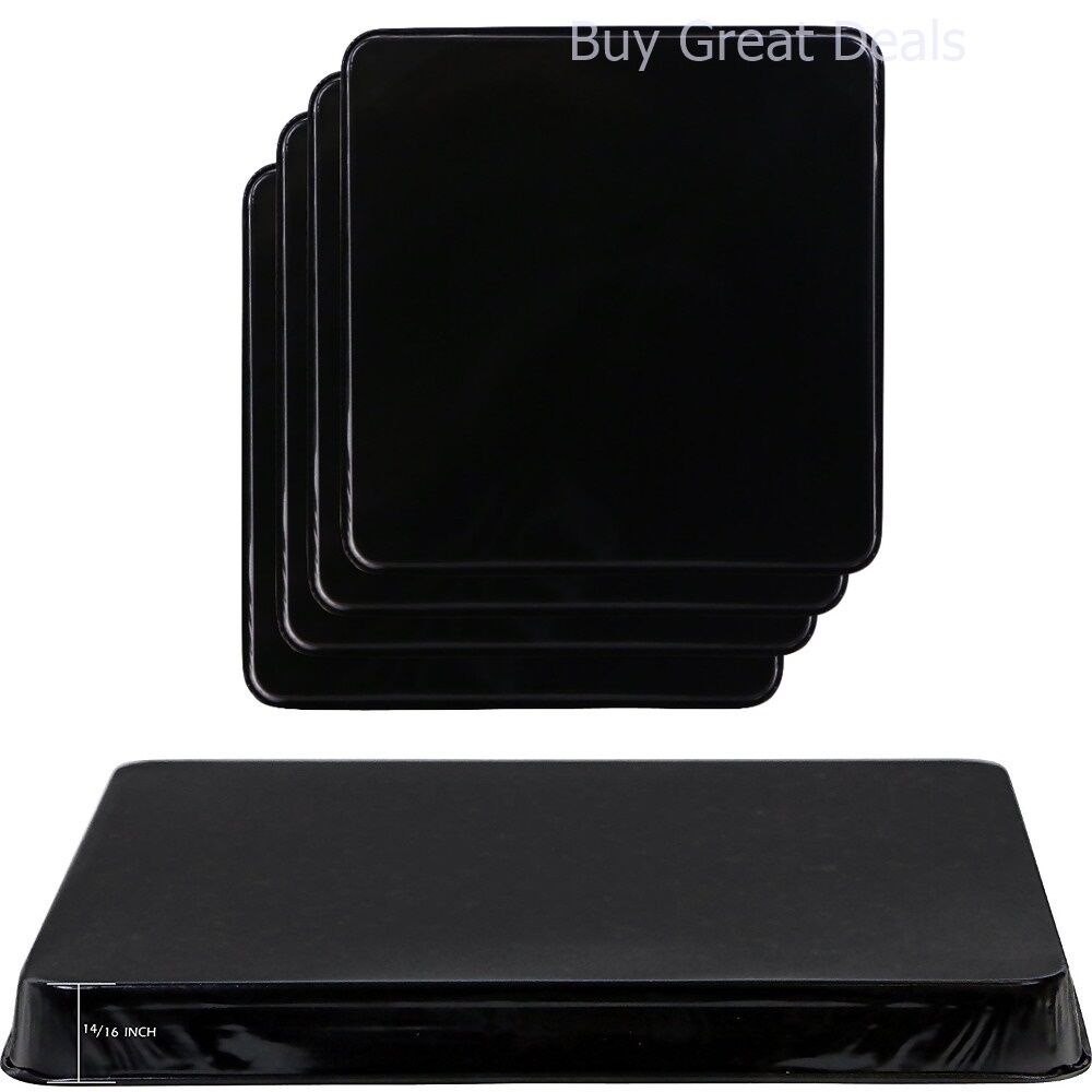 New Gas Burner Covers Square Kitchen Home Stove Top Set of ...