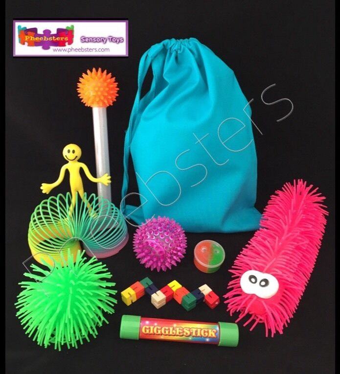Toys For Autism Special Needs : Sensory toys fidget kit toy bag fiddle autism