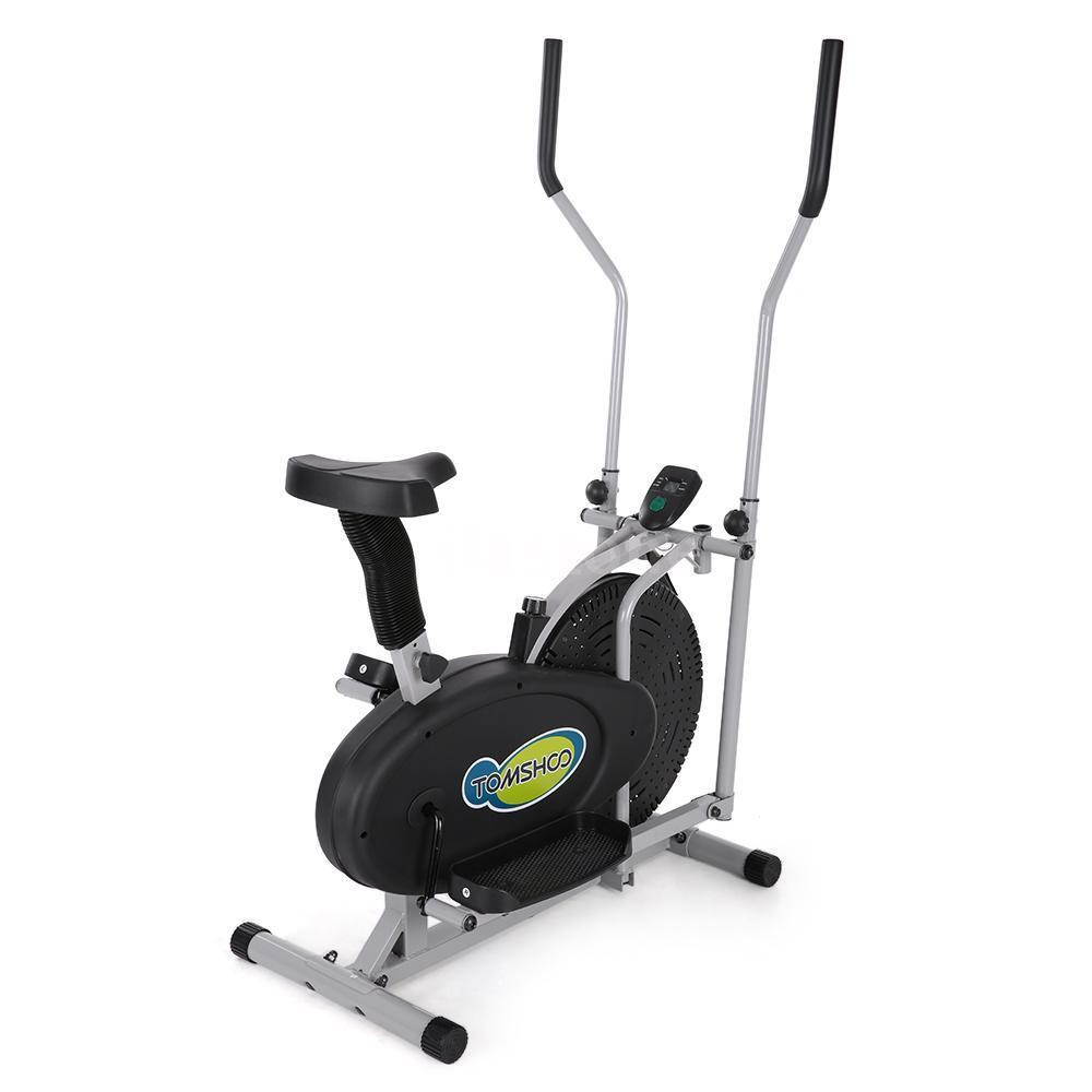 Elliptical Bike Ebay: 2 In 1 Elliptical Bike Fitness Trainer Workout Machine