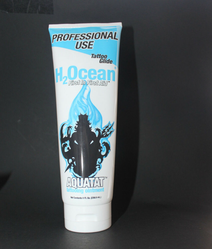 h2ocean aquatat aquaphor tattoo aftercare ointment 8 oz