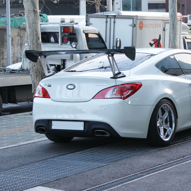 Rsw Rear Gt Wing Spoiler For Hyundai Genesis Coupe Bk1