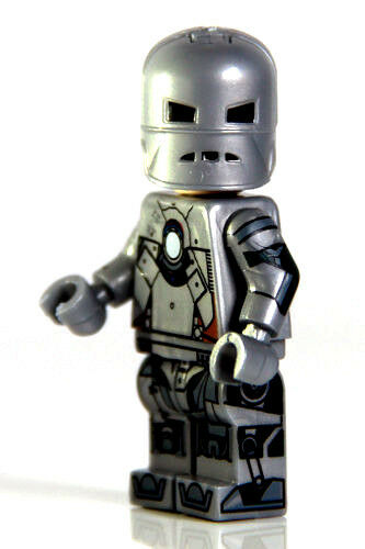 Custom iron man ironman mark mk 1 mini figure minifig sold - Mini iron man ...