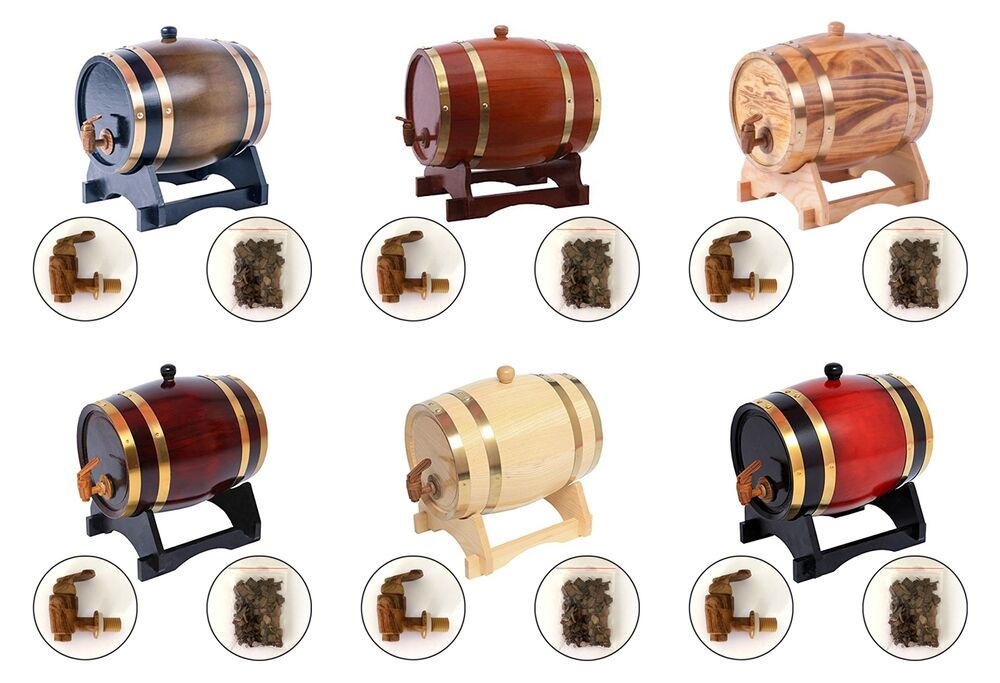 Storage oak wine barrels Amazon Details About Oak Barrels Aging Wine Whiskey Spirits Or 3l Wooden Barrels For Storage Cientounoco Oak Barrels Aging Wine Whiskey Spirits Or 3l Wooden Barrels For