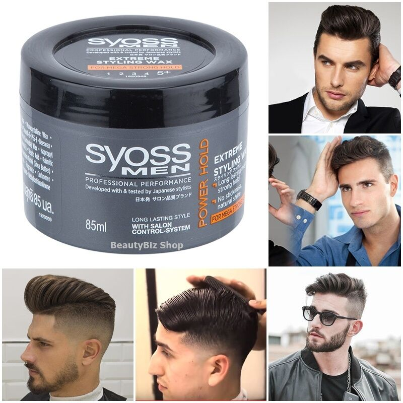 wax for hair styling syoss hair wax styling power strong hold 2080