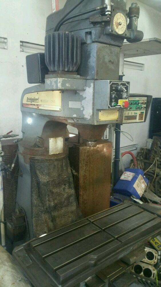 BRIDGEPORT SERIES 1 CNC VERTICAL MILL MILLING MACHINE 3