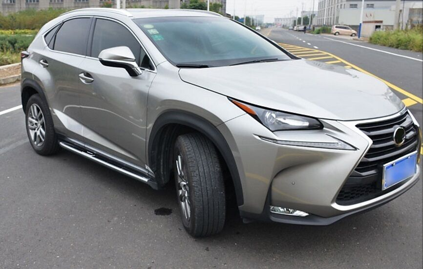 Lexus 350 Rx 2017 >> Fit for LEXUS NX 200 NX 300h NX200T 2015-2017 running boards side step nerf bar | eBay