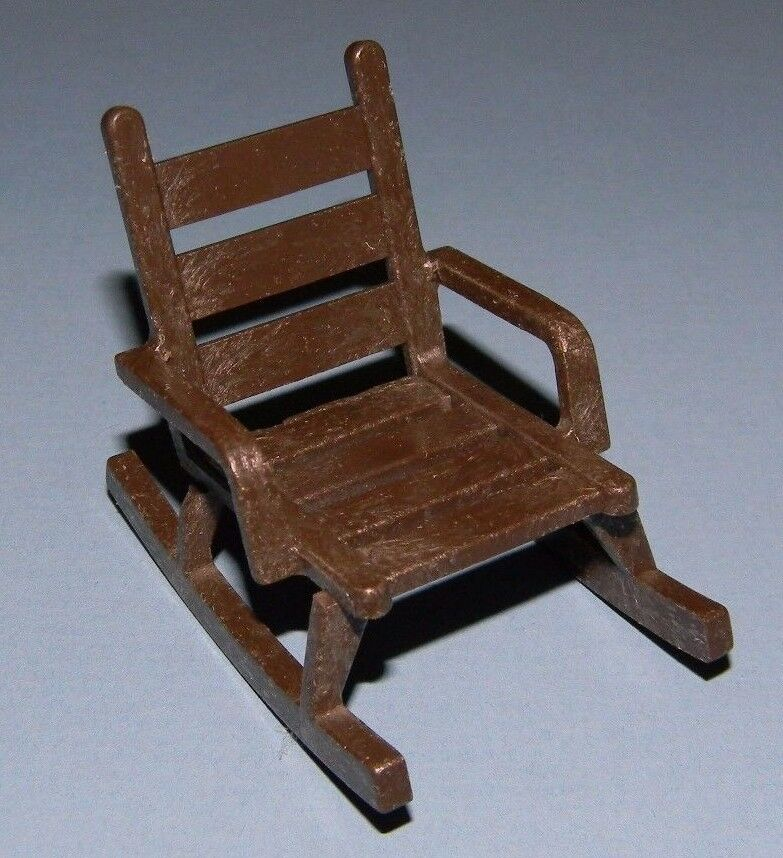 Wooden Chair Spindle Replacement Parts ~ Playmobil brown wooden rocking chair to sets listed