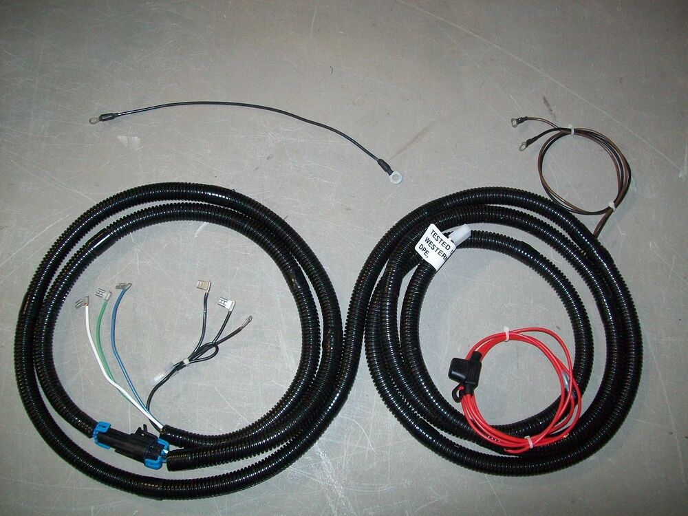 FISHER SNOW PLOW WIRE HARNESS - ELECTRIC SOLENOID CONTROLLED PUMPS ...