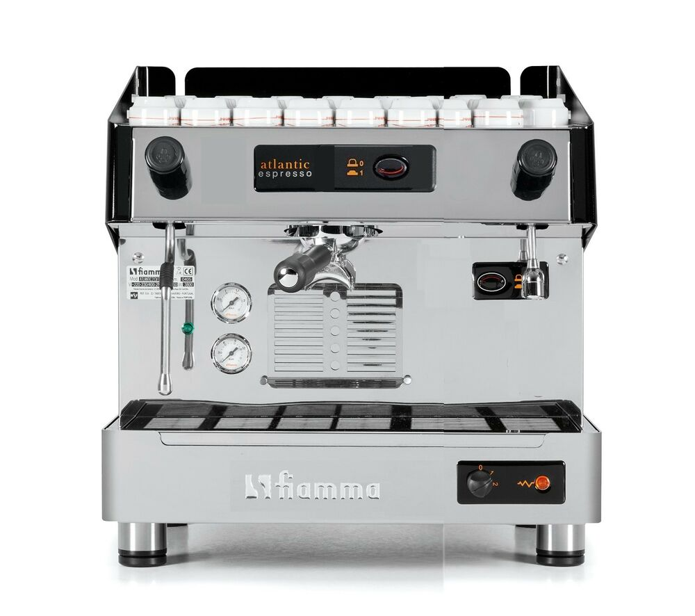 Electronic Industrial Coffee Machine For Sale commercial espresso machines ebay new fiamma atlantic 1 group cappuccino machine tall cup