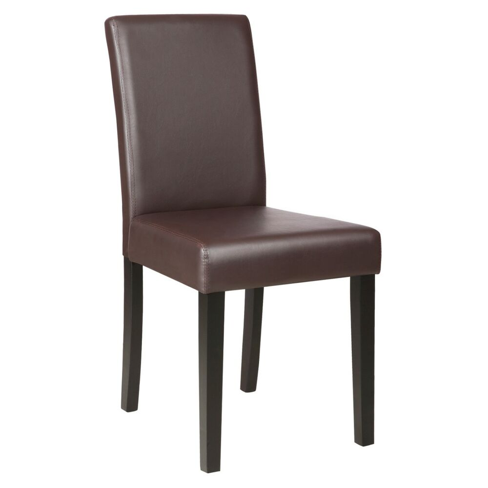 Kitchen Chair Designs: Set Of 2 Kitchen Dinette Dining Room Chair Elegant Design