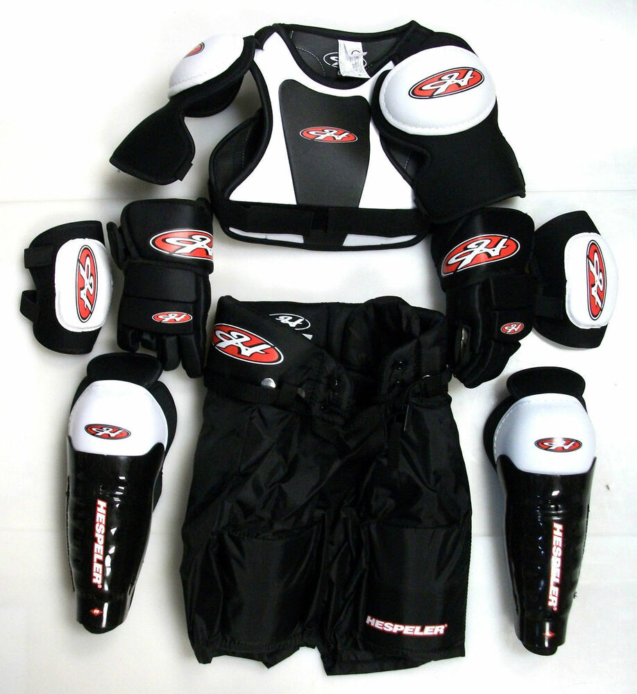 Youth Ice Hockey Protective Gear Kit Set Kids Mite ...