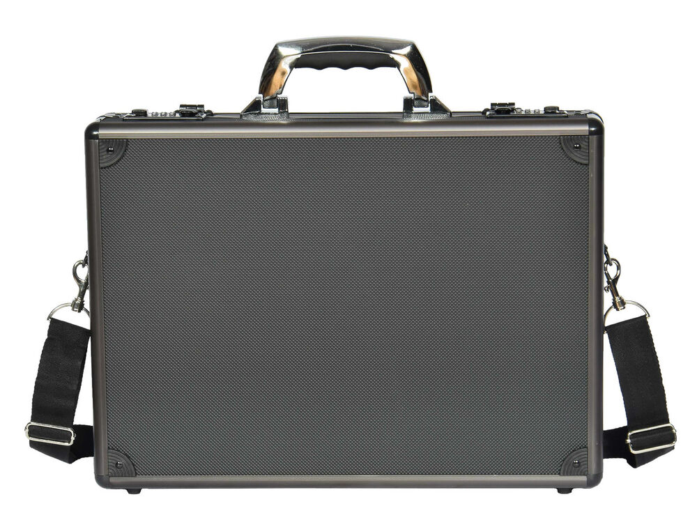 Mens Briefcase Traditional Attache Aluminium Metal Bag ...