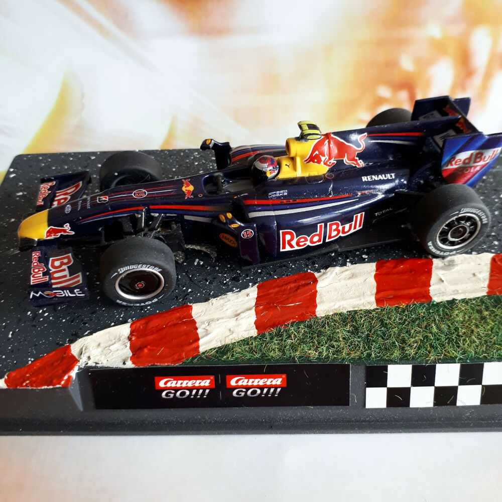 carrera go formel 1 red bull s vettel slotcar 1 43 f1 rb5. Black Bedroom Furniture Sets. Home Design Ideas