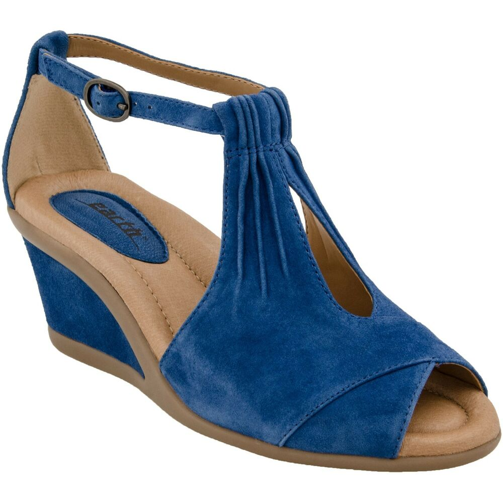 earth caper s leather wedge sandals all colors