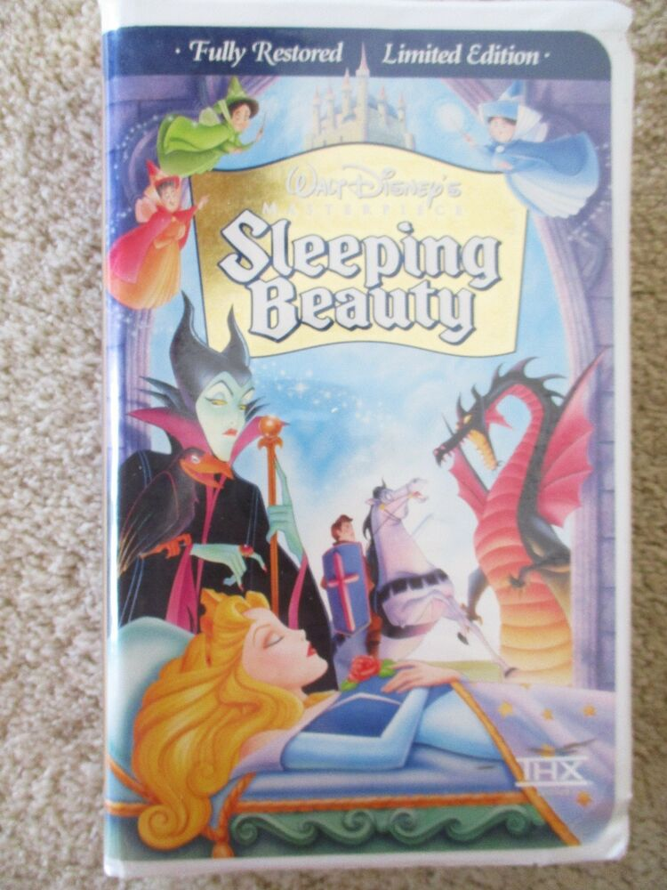 Sell Vhs Tapes >> Walt Disney Masterpiece Sleeping Beauty (VHS, 1997 ...