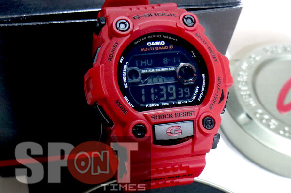 51470112bc8d Details about Casio G Shock Burning Red Solar Watch GW-7900RD-4 GW7900RD 4