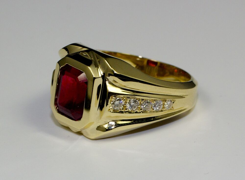 Pure Ruby Ring