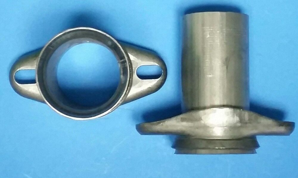 Quot header to od aluminize pipe bolt ball