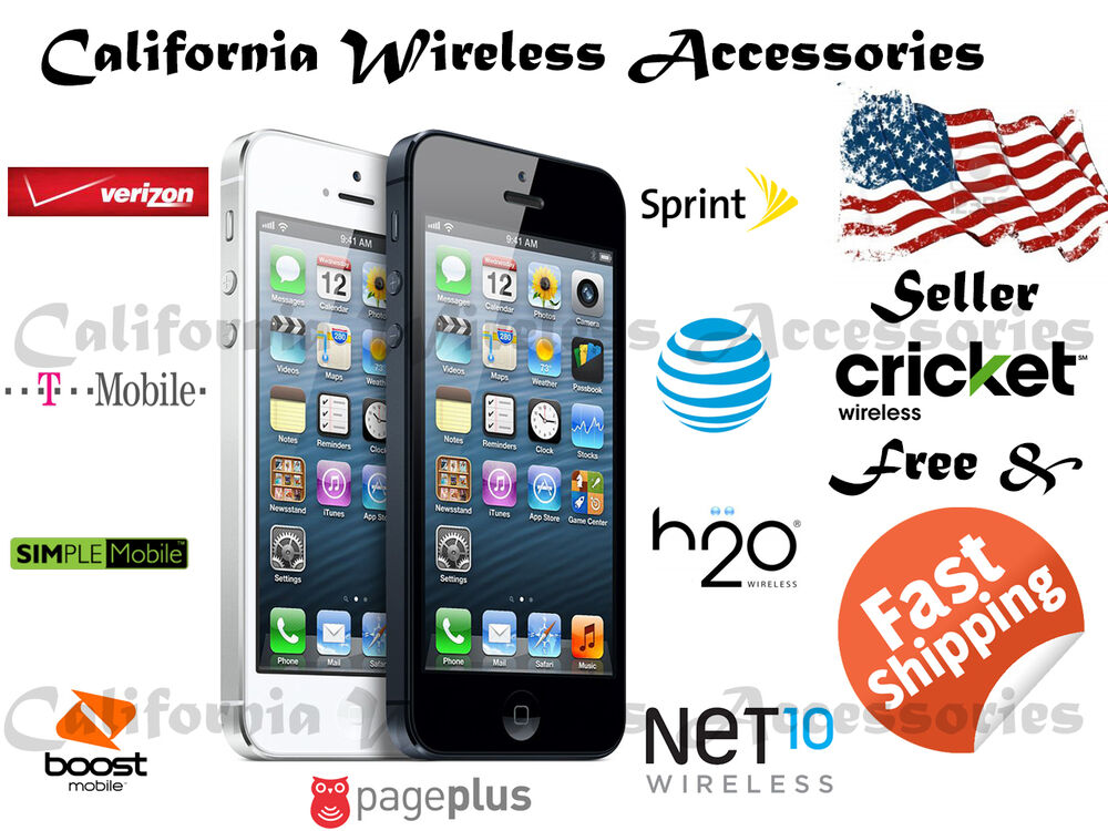 iphone 5s at t no contract apple iphone 5 16gb verizon sprint att tmobile clean esn 1049