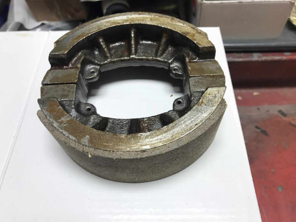 Yanmar Tractor Cooling System Parts : Brake shoe pair set of yanmar ym tractor new