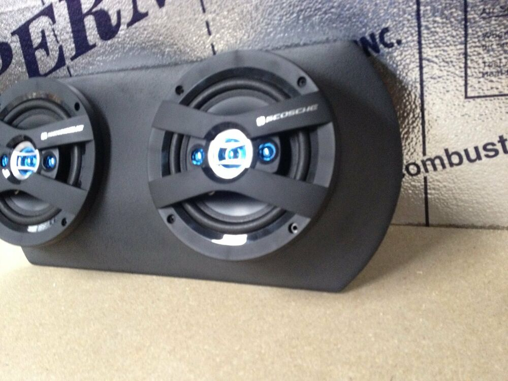 "Ebay Motors Fees >> Universal FiberGlass DUAL 6.5"" Door Speaker Pod *PAIR ..."