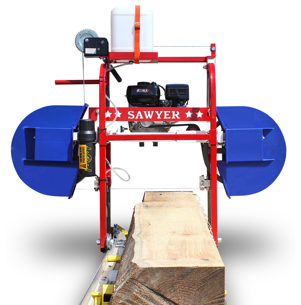 how to build a bandsaw mill