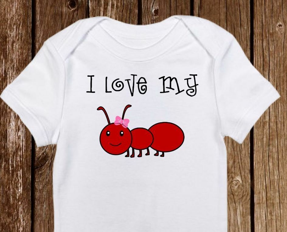 2c328a16c534 I love my Aunt Baby Onesie - onesies - Cute Baby Girl Clothes - Baby ...