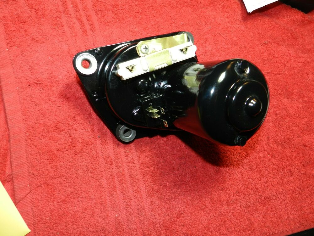 Restored oe 2 speed wiper motor 72 73 74 dart duster for Mopar wiper motor restoration