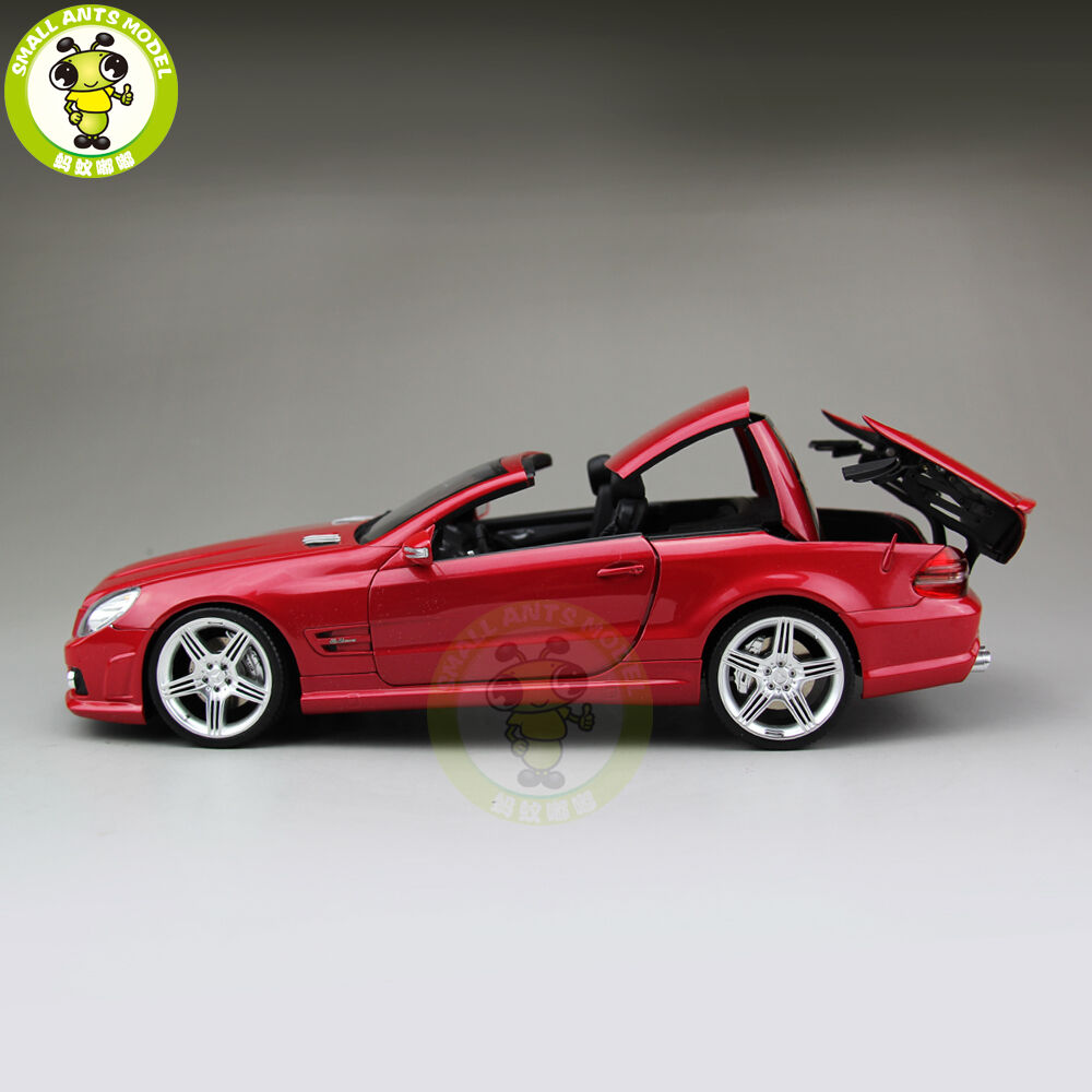 1 18 daimler mercedes benz sl 63 amg rmz model 240001 diecast model car red ebay. Black Bedroom Furniture Sets. Home Design Ideas