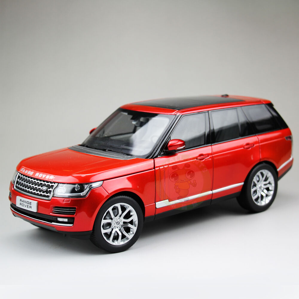 1:18 Land Rover Range Rover Diecast Car Suv Model Welly