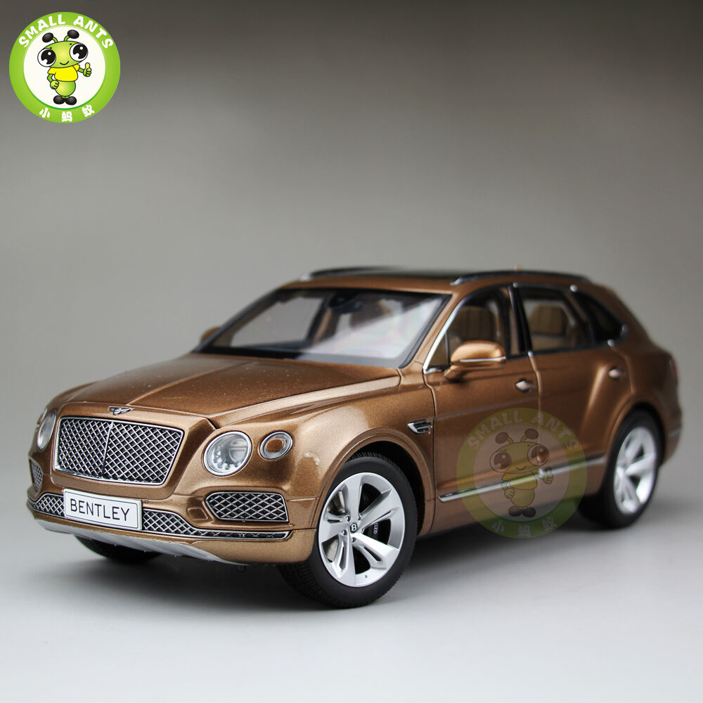 1 18 scale kyosho 08921 bentley bentayga diecast suv car model molten bronze ebay. Black Bedroom Furniture Sets. Home Design Ideas