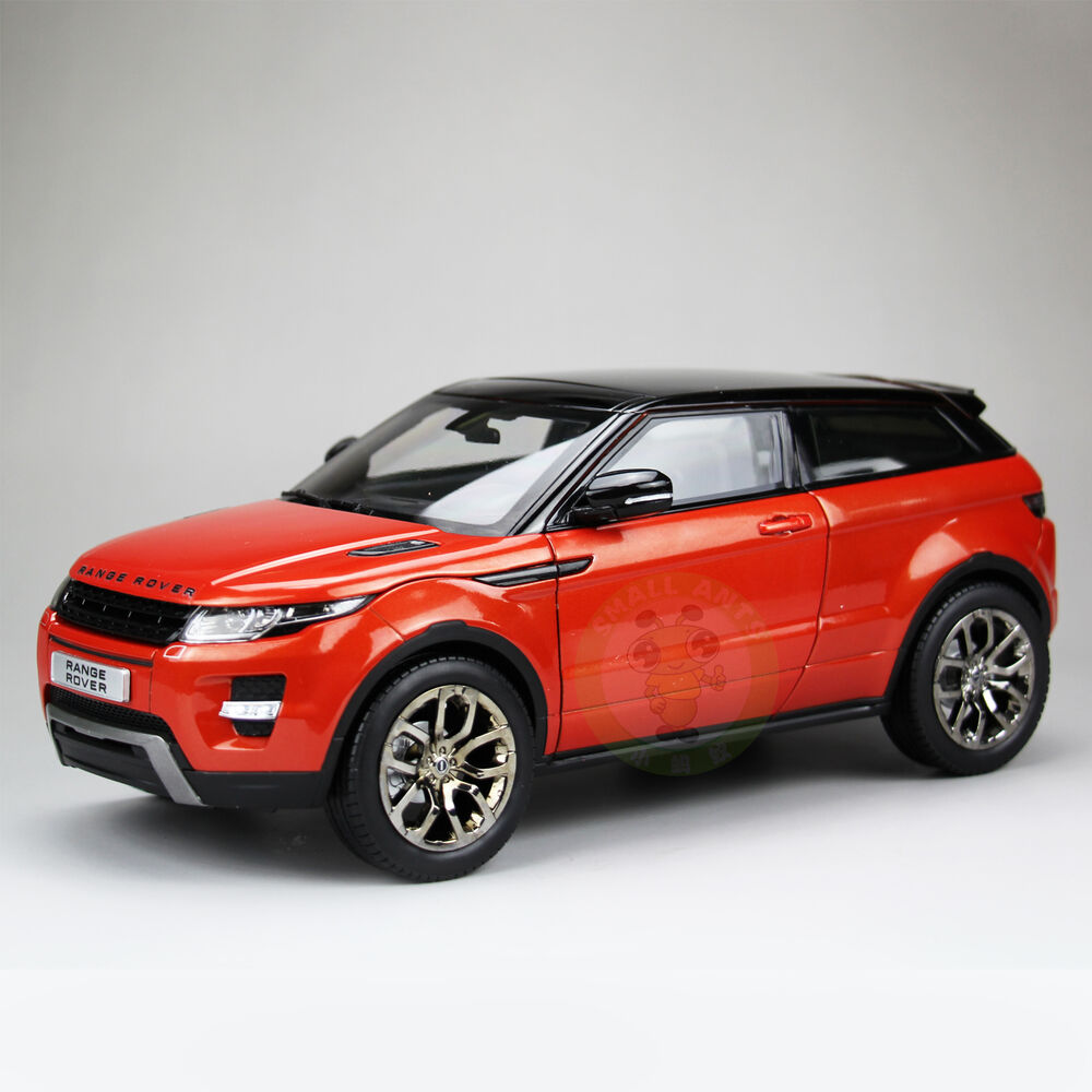 1:18 Land Rover Range Rover Evoque Diecast Car Suv Model