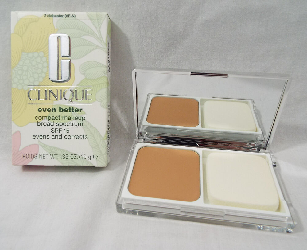 clinique even better compact makeup spf15 in alabaster 2. Black Bedroom Furniture Sets. Home Design Ideas