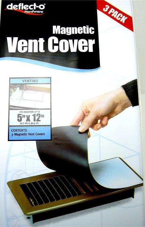 Deflect O Magnetic Vent Cover 3pk For Wall Ceilling Floor