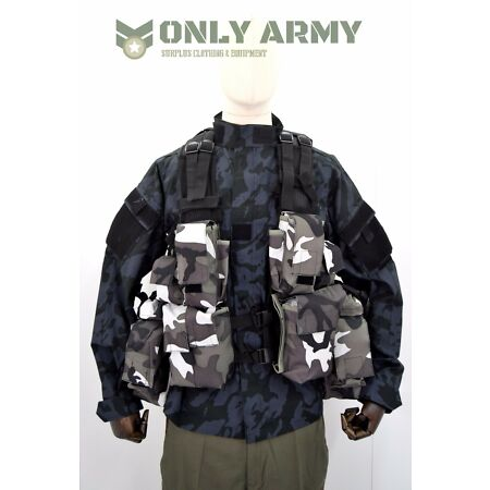 img-Tactical Load Bearing Vest Army / Combat / Airsoft Urban Camo FACTORY 2nds