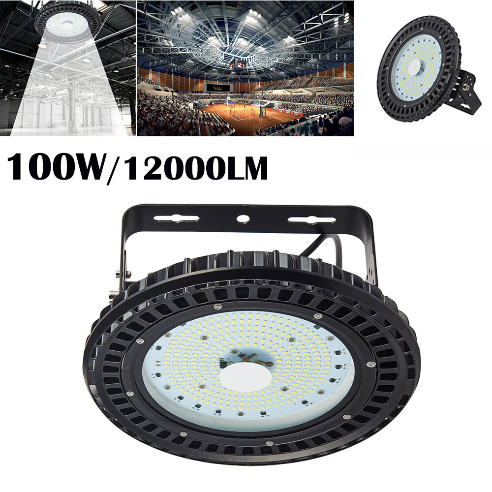 100W UFO LED High Bay Light Factory Warehouse Gym Shed