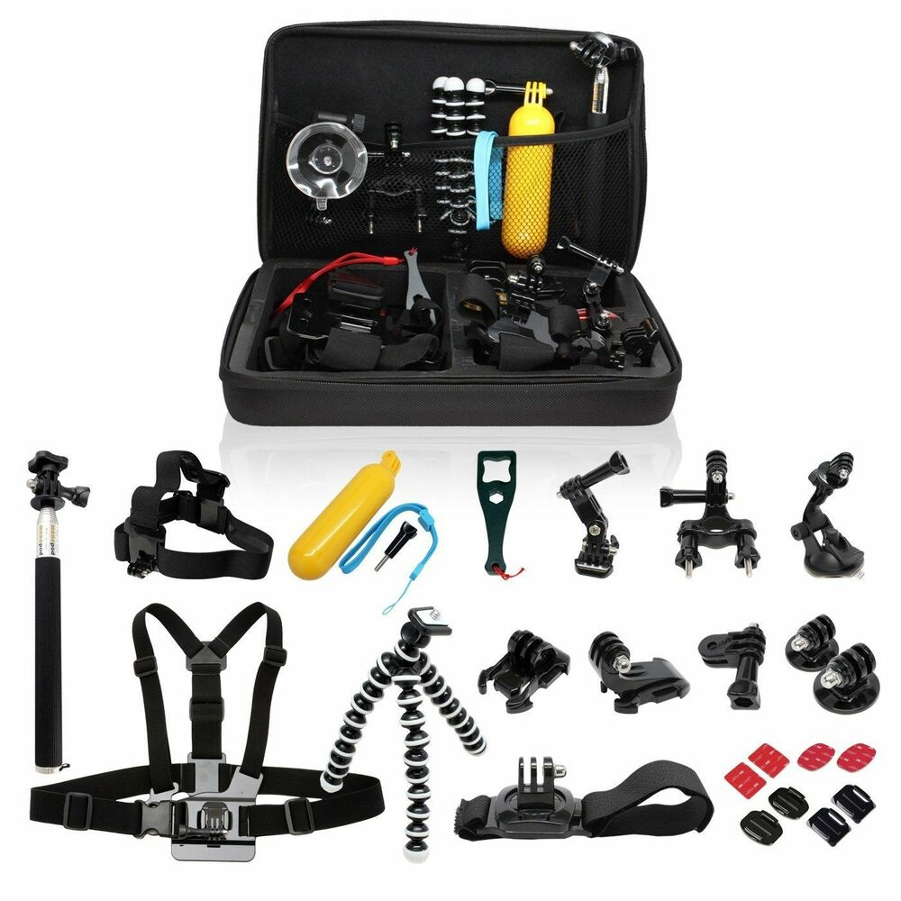 For GoPro Accessories Outdoor Sports Bundle Kit for GoPro ...  Gopro