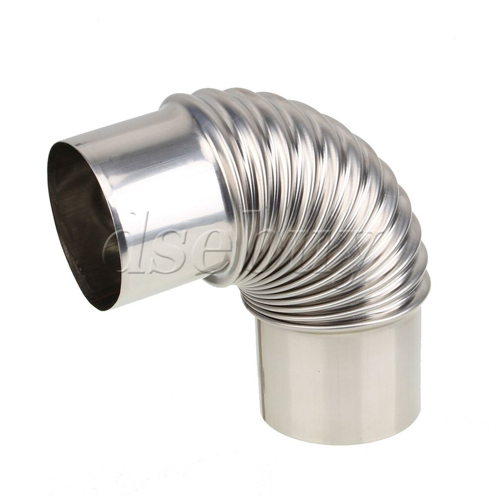 Boiler water heater stainless steel elbow exhaust pipe for for Water heater pipe