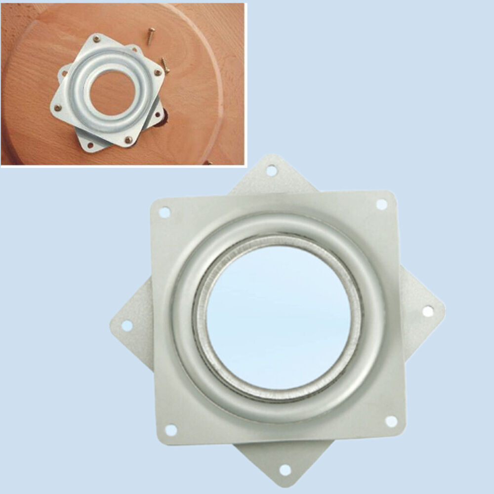 3 4 Square Bore Bearings : Square bearing swivel plate lazy susan turntable quot