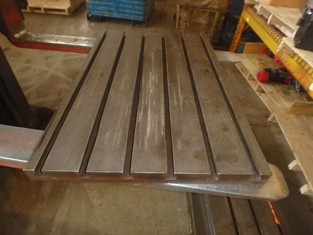 20 Quot X 30 Quot X 2 Quot Steel Welding T Slotted Table Cast Iron