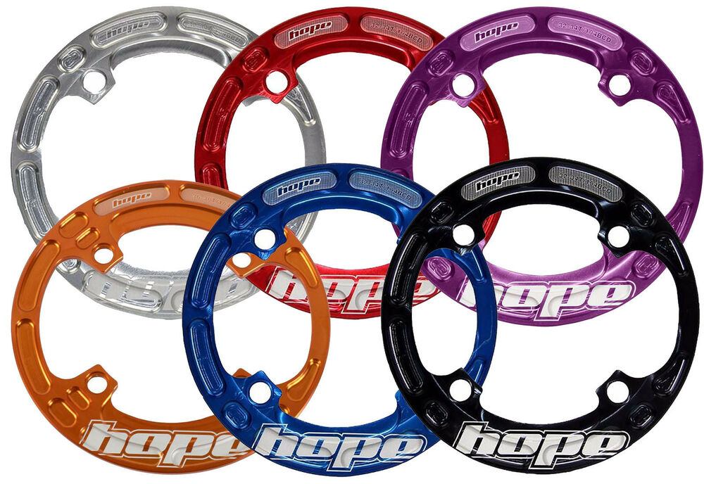 Hope Mtb Mountain Bike Bashguard Bash Guard For Chainrings