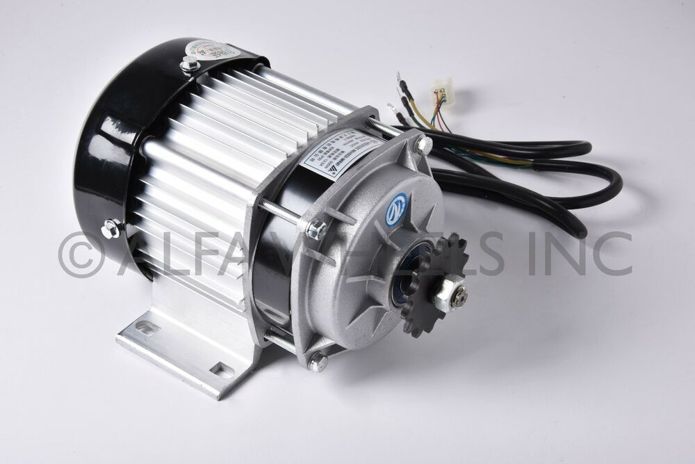 500w watt 48v electric gokart tricycle brushless motor diy