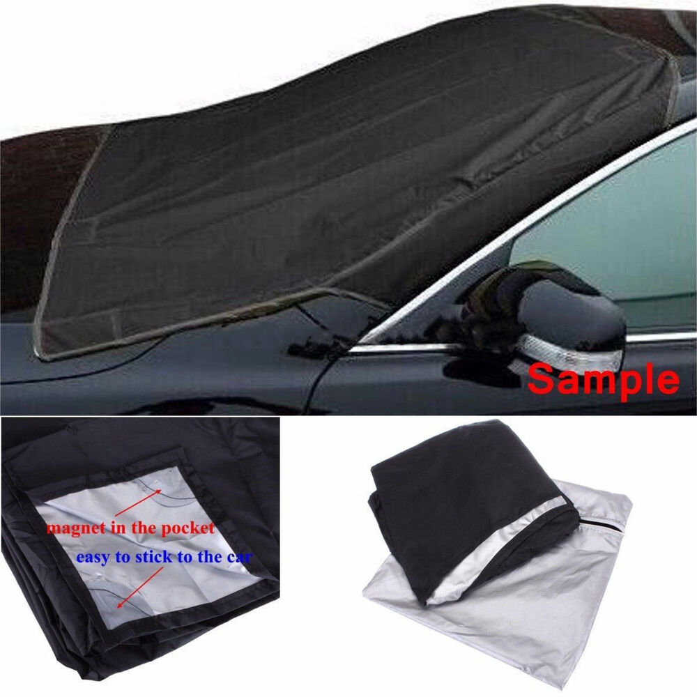 car suv magnet windshield cover sun shield snow frost. Black Bedroom Furniture Sets. Home Design Ideas