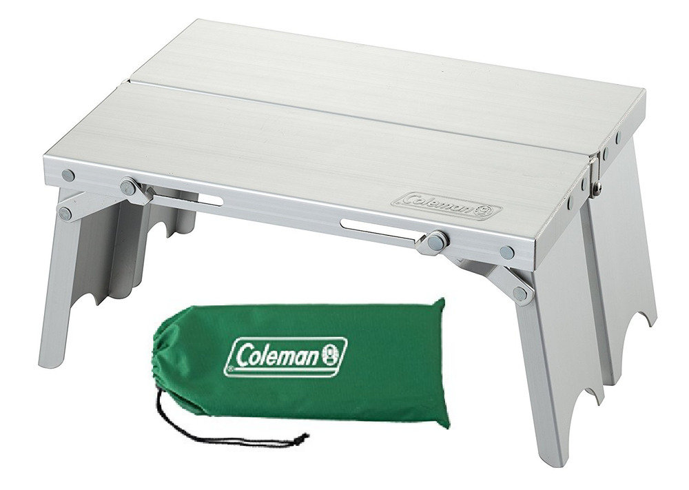 Coleman compact trekking table foldable lightweight aluminum camping outdoor ebay - Lightweight camping tables ...