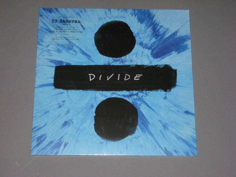 Ed Sheeran 247 Divide 180g 2 Lp 45rpm Gatefold New Sealed