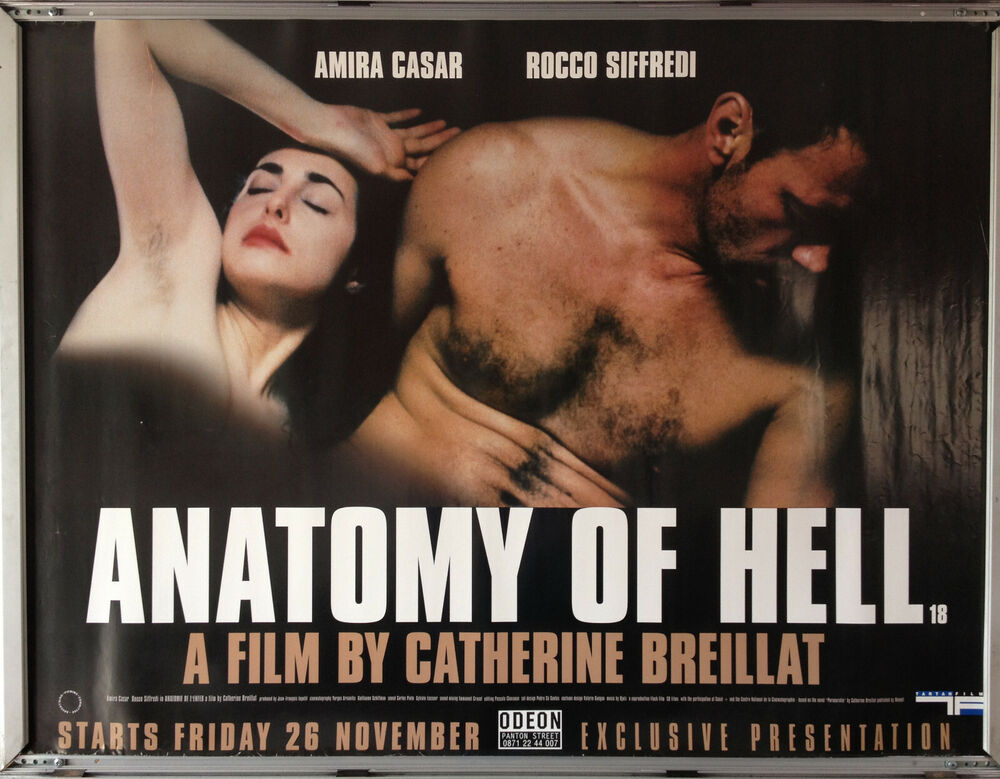 Cinema Poster Anatomy Of Hell 2004 Quad Amira Casar Rocco