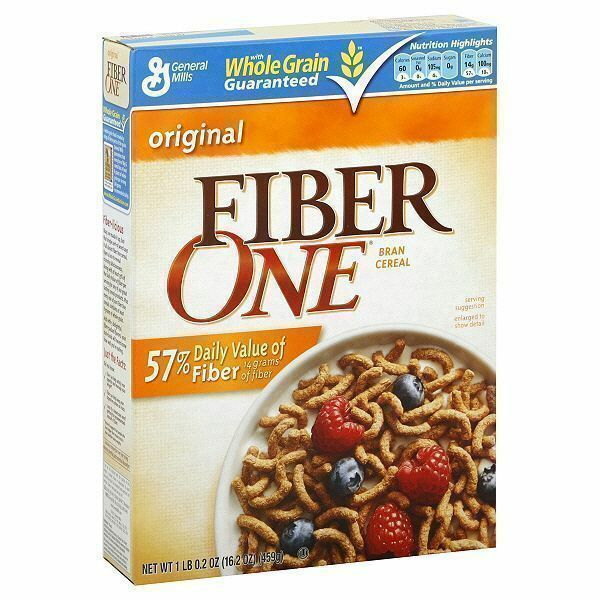 Fiber One Cereal 459g (16.2oz) By General Mills American